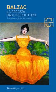 Libro La ragazza dagli occhi d'oro Honoré de Balzac