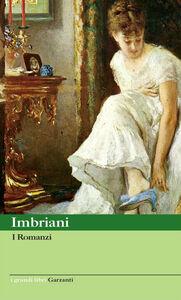 Libro I Romanzi Vittorio Imbriani