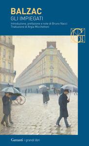Gli impiegati - Honoré de Balzac - copertina