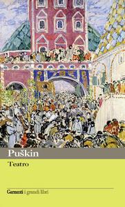 Teatro - Aleksandr Puskin - copertina