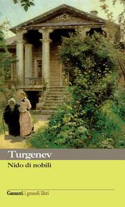 Nido di nobili - Ivan Turgenev - copertina