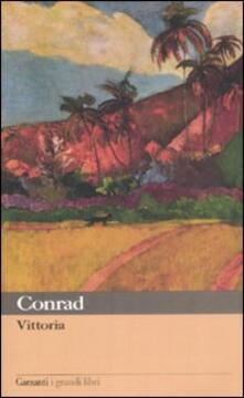Vittoria - Joseph Conrad - copertina