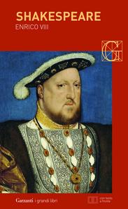 Libro Enrico VIII William Shakespeare