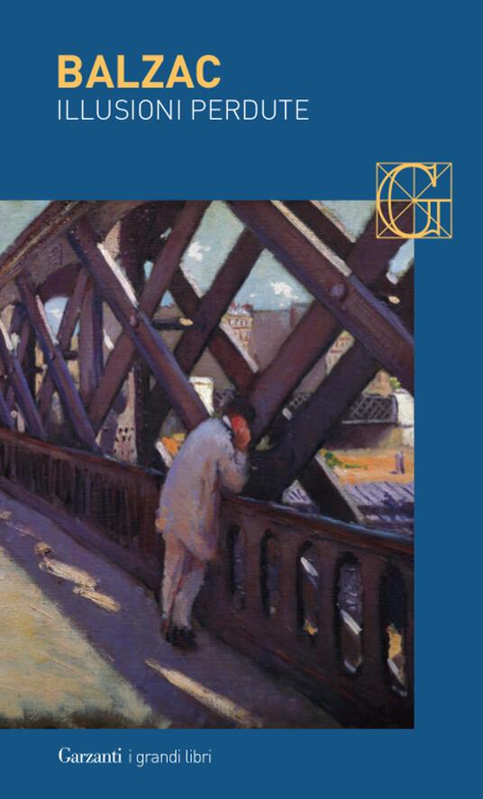 Le illusioni perdute - Honoré de Balzac - copertina