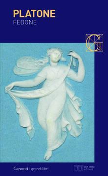 Fedone. Testo greco a fronte - Platone - copertina