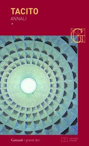 Libro Annali. Testo latino a fronte P. Cornelio Tacito