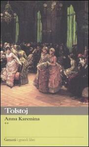 Anna Karenina - Lev Tolstoj - copertina