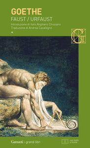 Libro Faust-Urfaust. Testo tedesco a fronte J. Wolfgang Goethe