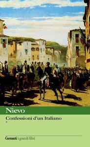 Le confessioni di un italiano. Vol. 1-2 - Ippolito Nievo - copertina