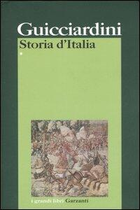 Storia d'Italia - Francesco Guicciardini - copertina