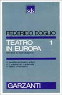 Winniearcher.com Teatro in Europa. Vol. 1 Image