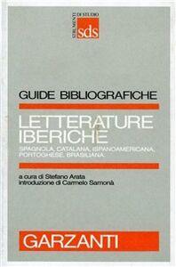 Foto Cover di Letterature iberiche, Libro di  edito da Garzanti Libri