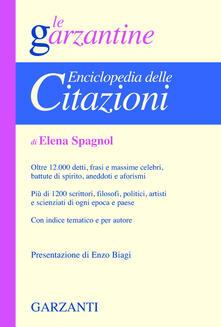 Enciclopedia delle citazioni - Elena Spagnol - copertina