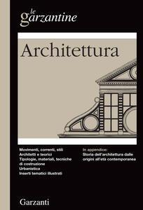 Enciclopedia dell'architettura - copertina