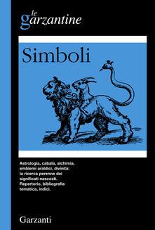 Enciclopedia dei simboli - Hans Biedermann - copertina