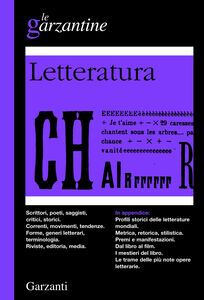 Foto Cover di Enciclopedia della letteratura, Libro di  edito da Garzanti Libri