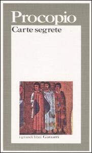 Carte segrete - Procopio di Cesarea - copertina