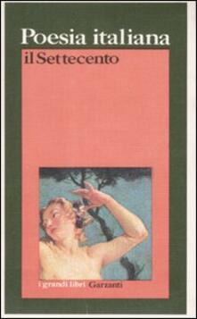 Criticalwinenotav.it Poesia italiana. Il Settecento Image