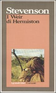 I Weir di Hermiston - Robert Louis Stevenson - copertina