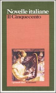 Novelle italiane. Il Cinquecento - copertina