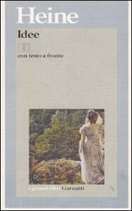 Idee. Il libro Le Grand. Testo tedesco a fronte - Heinrich Heine - copertina