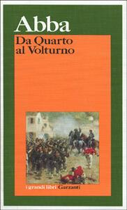 Da Quarto al Volturno - Giuseppe Cesare Abba - copertina
