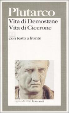 Cefalufilmfestival.it Vita di Demostene-Vita di Cicerone. Testo greco a fronte Image