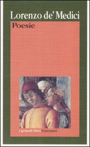 Libro Poesie Lorenzo de' Medici