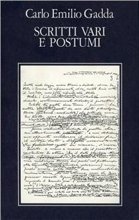 Image of Opere. Vol. 5: Scritti vari e postumi. Bibliografia e indici.