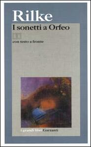 Sonetti a Orfeo - Rainer Maria Rilke - copertina