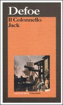 Il Colonnello Jack - Daniel Defoe - copertina