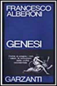 Foto Cover di Genesi, Libro di Francesco Alberoni, edito da Garzanti Libri