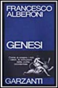 Libro Genesi Francesco Alberoni