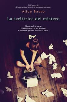 La scrittrice del mistero - Alice Basso - copertina