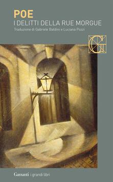 I delitti della Rue Morgue - Edgar Allan Poe - copertina