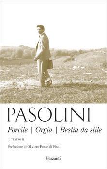 Ipabsantonioabatetrino.it Teatro. Vol. 2: Porcile-Orgia-Bestia da stile Image