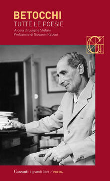 Tutte le poesie - Carlo Betocchi - copertina