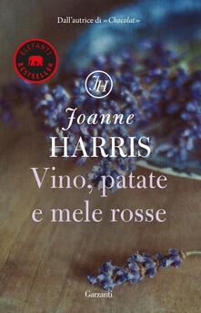 Vino, patate e mele rosse - Joanne Harris - copertina