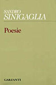 Libro Poesie Sandro Sinigaglia