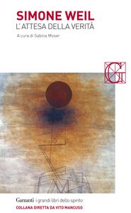 Libro L' attesa della verità Simone Weil