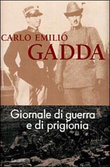 Giornale di guerra e di prigionia - Carlo Emilio Gadda - copertina