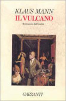 Il vulcano - Klaus Mann - copertina