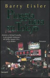 Pioggia nera su Tokyo - Barry Eisler - copertina