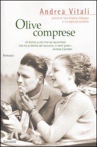 copertina del libro Olive Comprese di Andrea Vitali, ed. Garzanti
