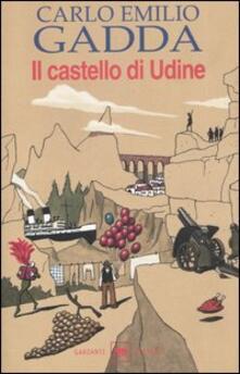 Il castello di Udine - Carlo Emilio Gadda - copertina
