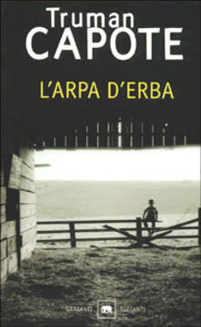 L' arpa d'erba - Truman Capote - copertina