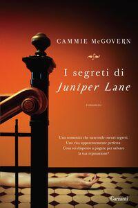 Libro I segreti di Juniper Lane Cammie McGovern