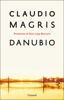 Danubio - Claudio Magris - copertina