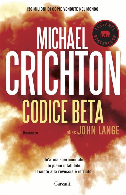 Codice Beta - Michael Crichton - copertina