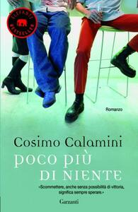 Poco più di niente - Cosimo Calamini - copertina